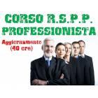 Corso RSPP PROFESSIONISTA - Aggiornamento 40 ore