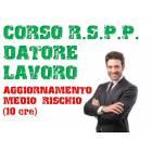 Corso RSPP Datore di Lavoro - Aggiornamento Medio Rischio 10 ore