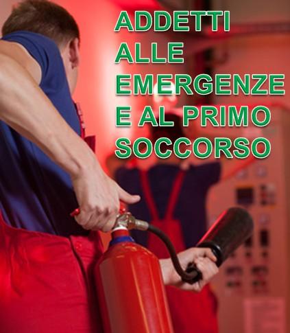 Addetti alle emergenze a al primo soccorso