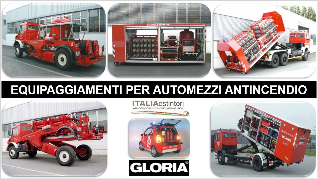 Equipaggiamenti per veicoli antincendio GLORIA
