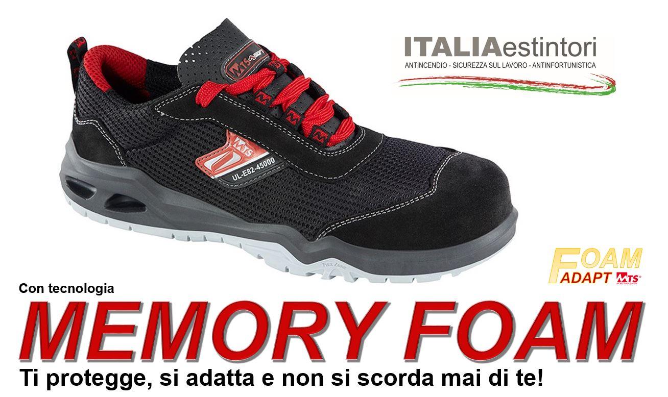 Scarpe antinfortunistiche con Memory Foam