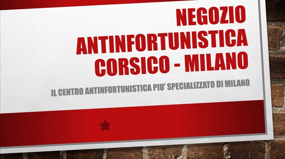 Negozio antinfortunistica di Corsico - Milano