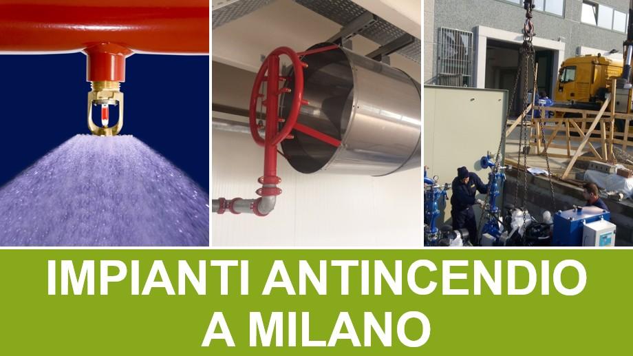 Impianti antincendio a Milano