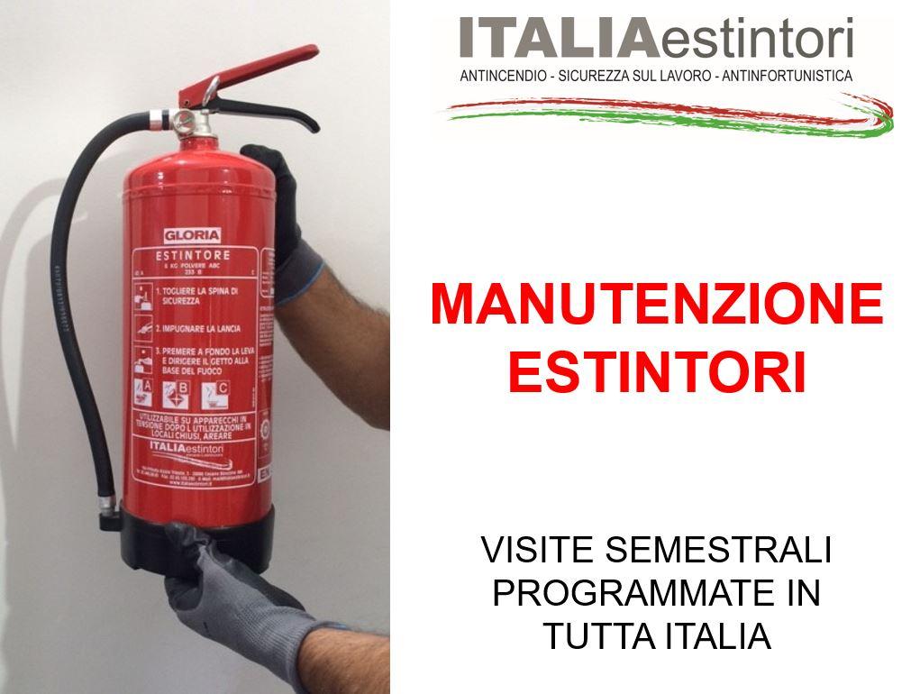 Manutenzione estintori a Cesano Boscone (MI)
