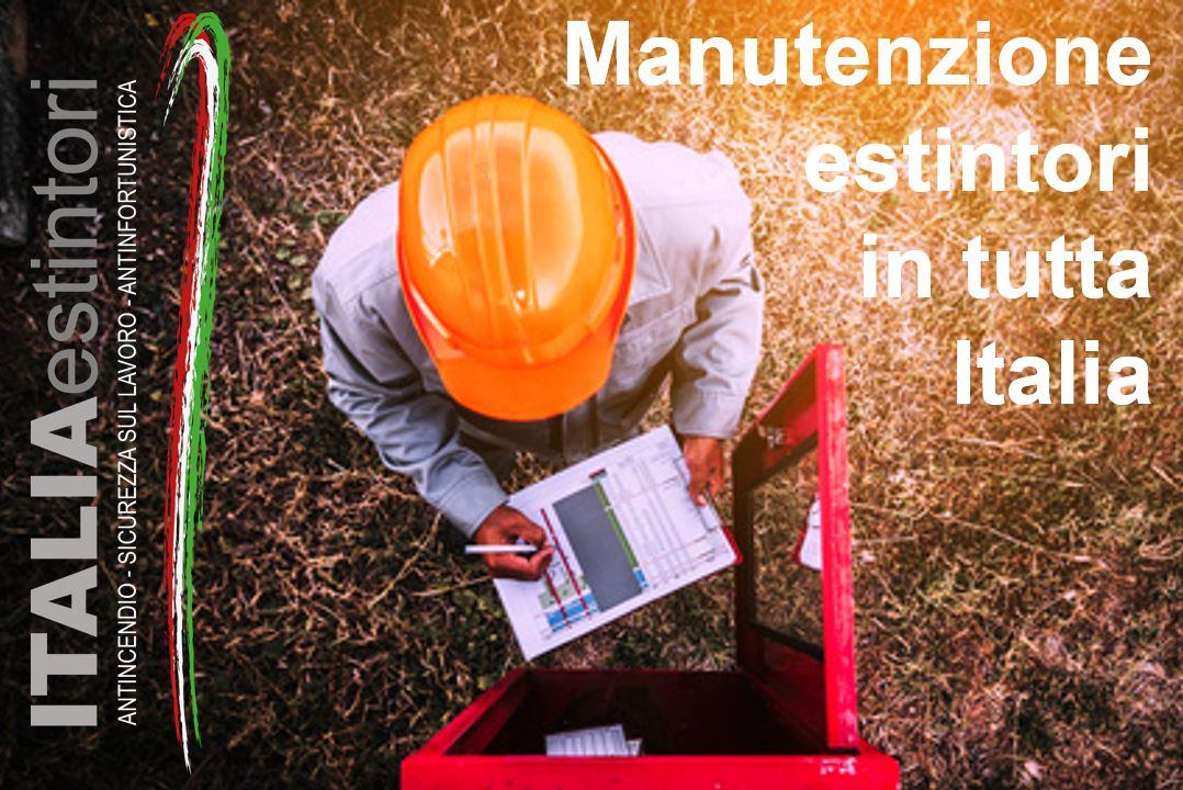 Manutenzione estintori a norma UNI 9994/2013