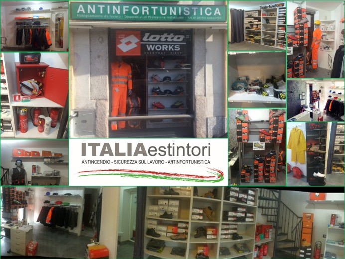 Negozio antinfortunistica Milano
