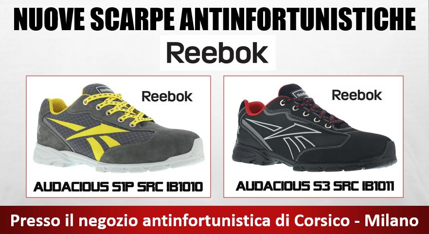 Scarpe antinfortunistiche Reebok a Milano