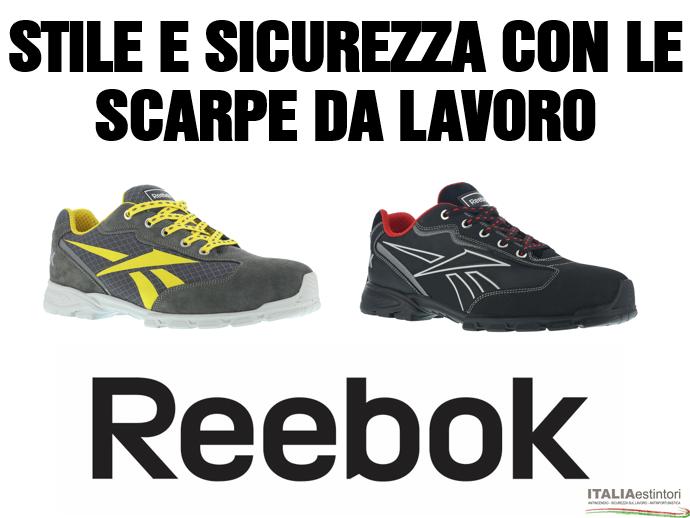 Scarpe antinfortunistiche Reebok Work a Milano