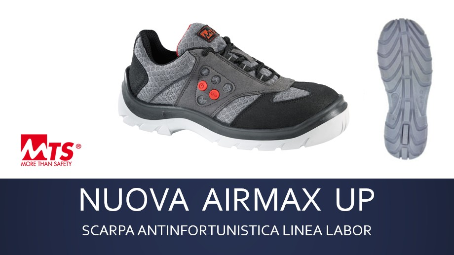 Scarpa antinfortunistica AIRMAX UP