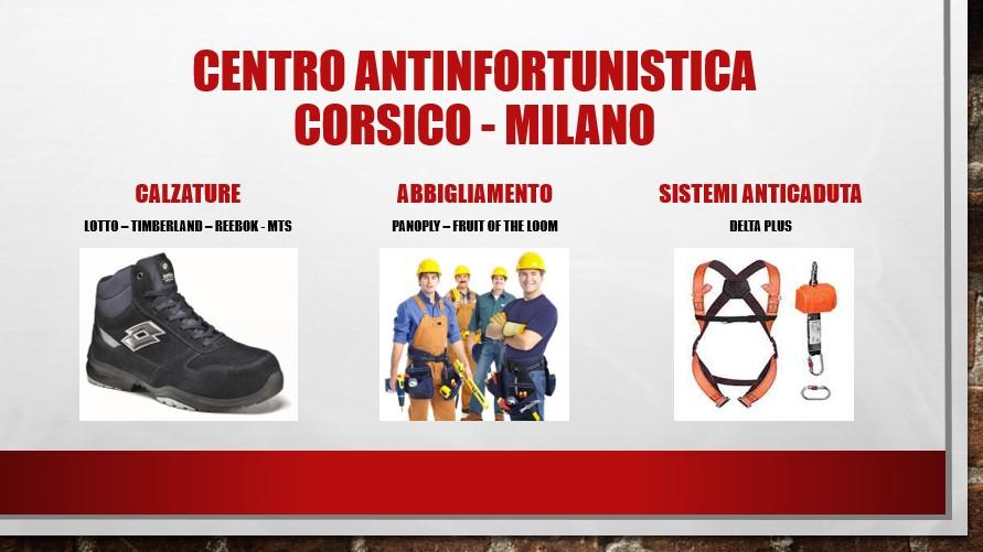 Centro antinfortunistica Corsico - Milano