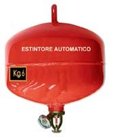 Estintori automatici a polvere: azionamento e manutenzione