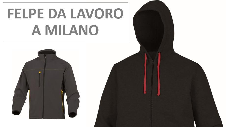 Felpe da lavoro a Milano
