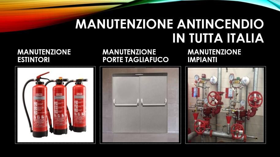 Manutenzione antincendio in Italia - Efficienza ed efficacia degli impianti