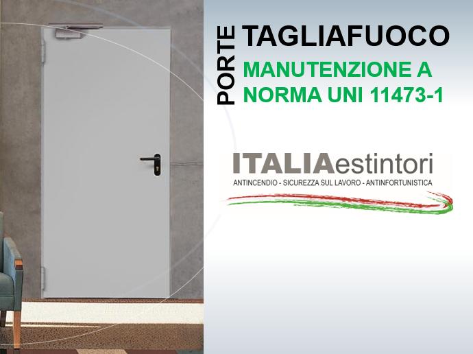 Manutenzione porte tagliafuoco a Milano