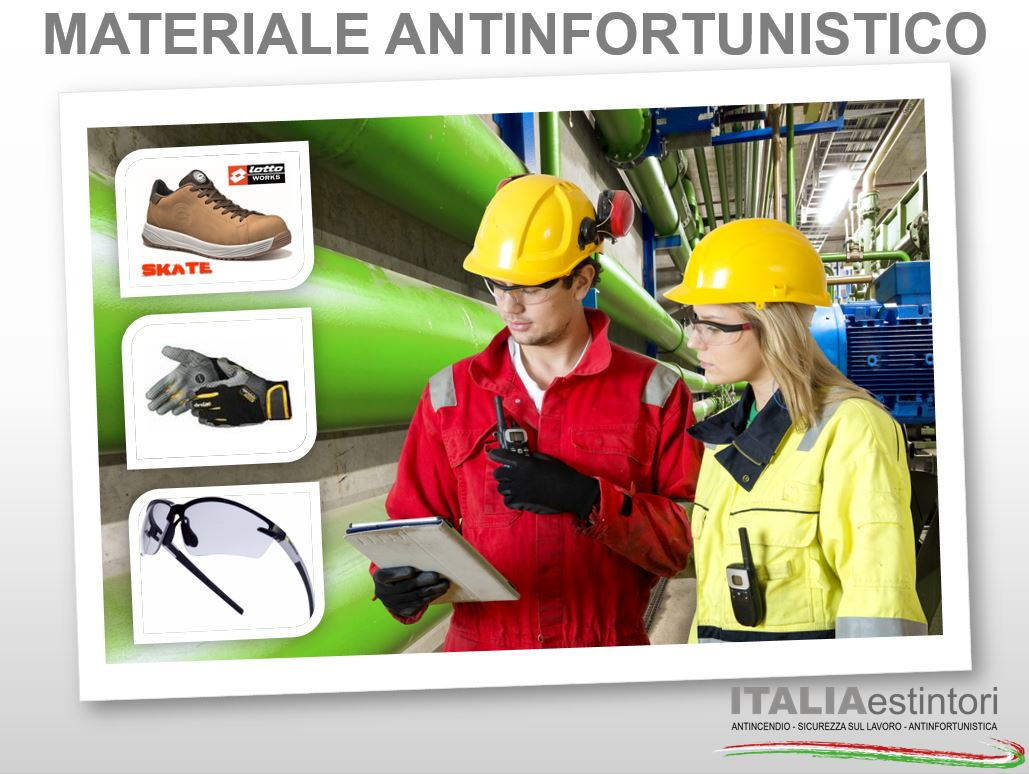 Materiale antinfortunistico