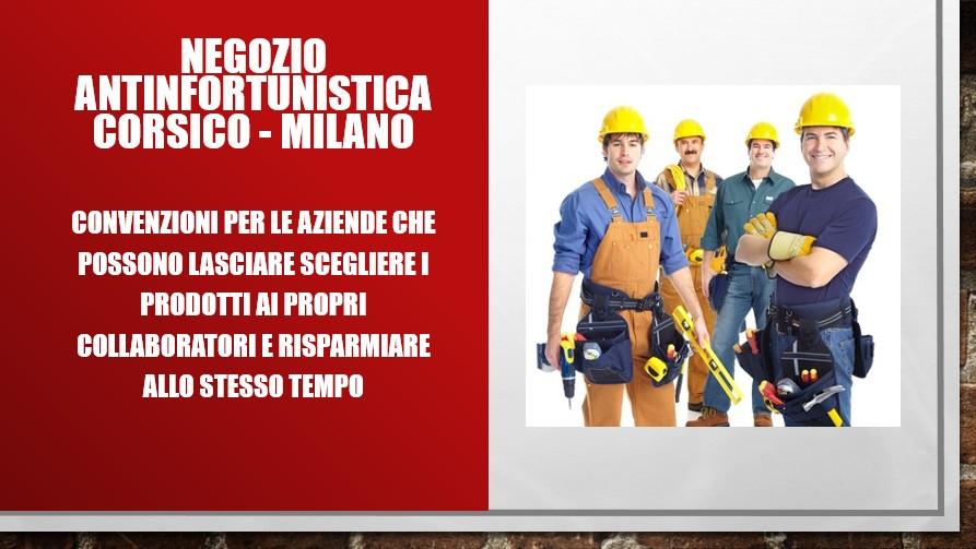 Antinfortunistica: negozio di Corsico - Milano