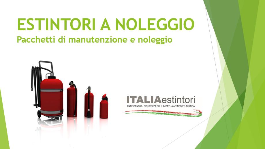 Manutenzione e noleggio estintori a Corsico - Milano