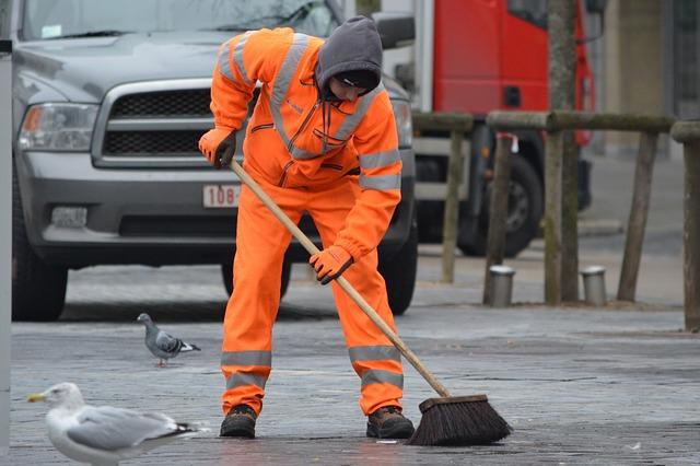 Abbigliamento da lavoro: l'operatore ecologico