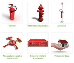 Prodotti antincendio per fronteggiare i pericoli