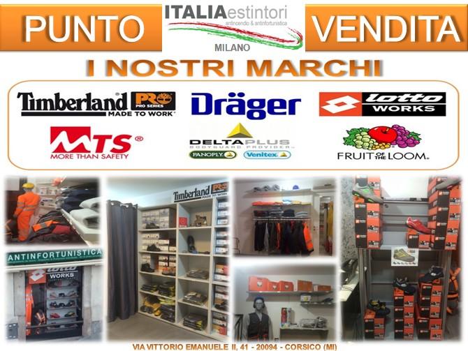 Italia Estintori innaugura il nuovo store antinfortunistica di Milano