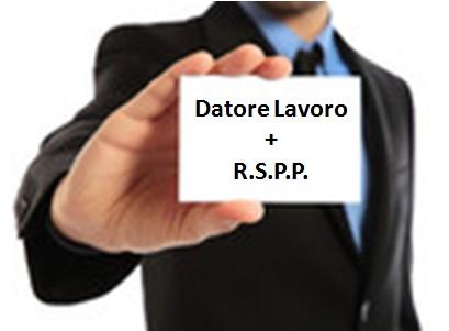 Assunzione del ruolo di R.S.P.P. del datore di lavoro