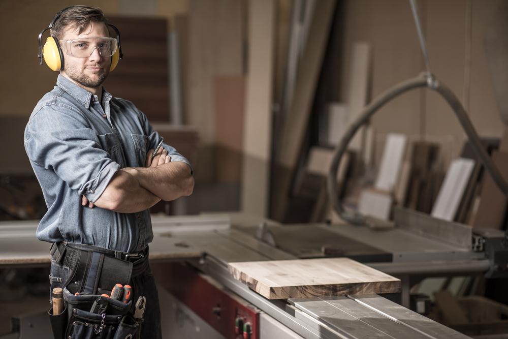Occhiali da lavoro per artigiani e falegnami
