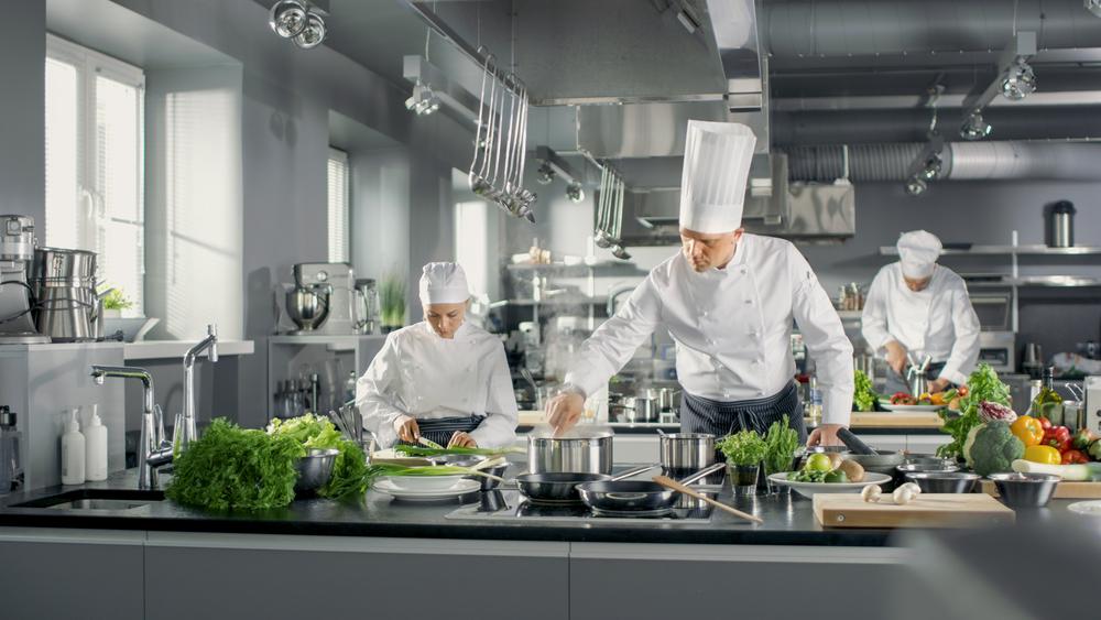 Estintori a schiuma per cucine di ristoranti e mense